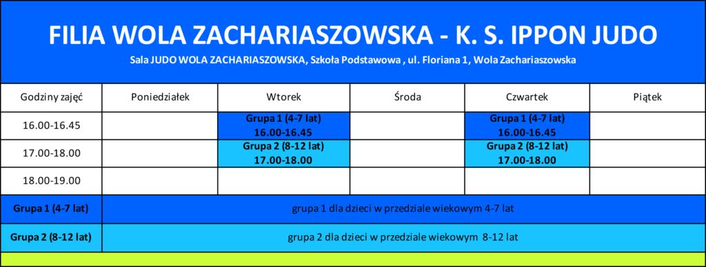 FILIA WOLA ZACHARIASZOWSKA